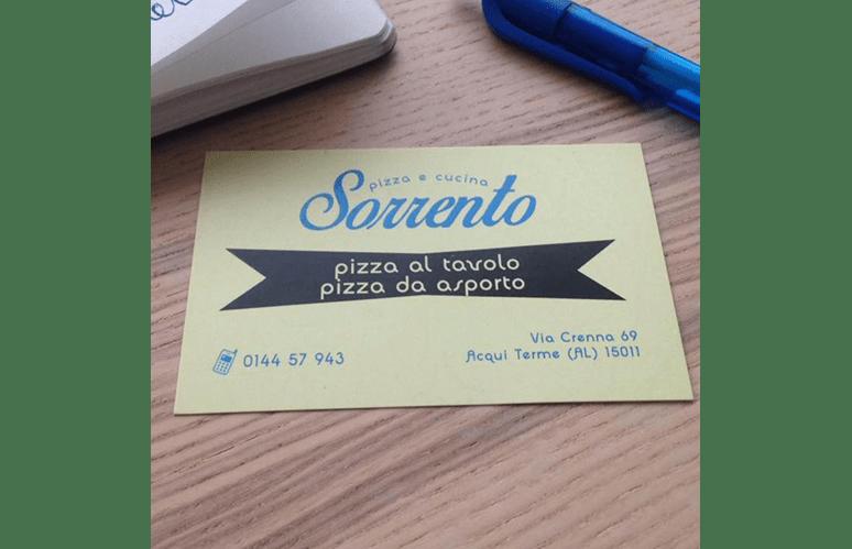 SCONTO PIZZERIA RISTORANTE AL TAVOLO