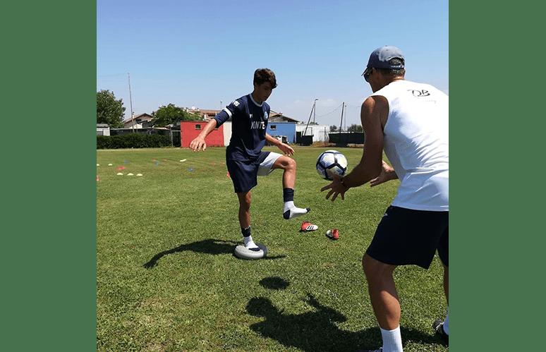 Allenamenti individualizzati di calcio