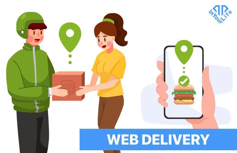 Servizio di delivery per attività di ristorazione