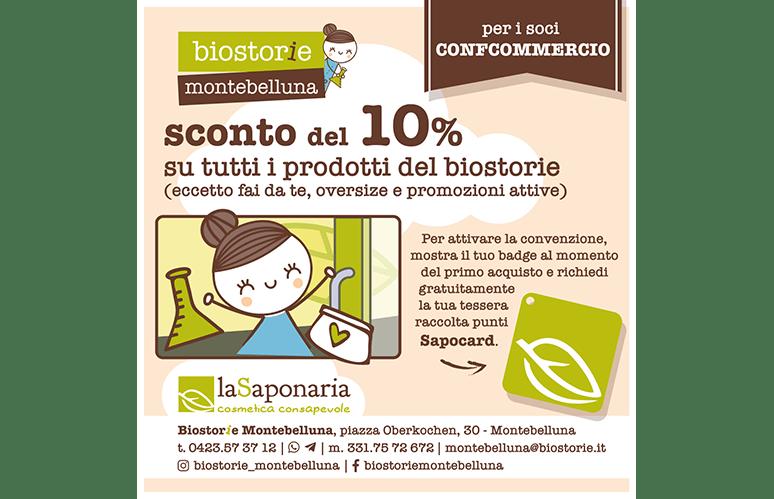 Biostorie Montebelluna per soci Confcommercio